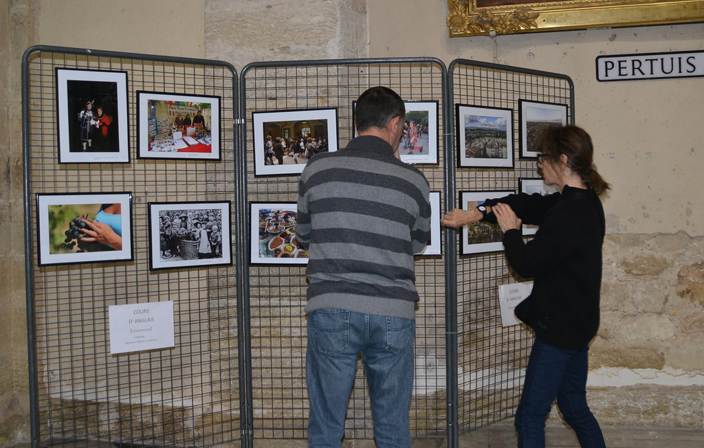 Expo photo 10 ans jumelage Alton