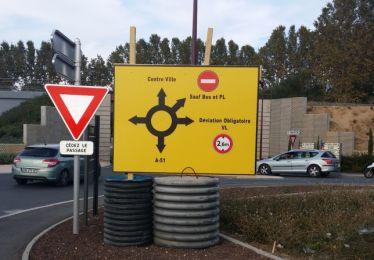 Attention aux travaux à proximité de la gare !
