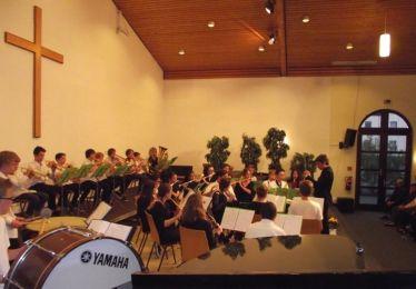 L'Harmonie Junior en concert à Herborn