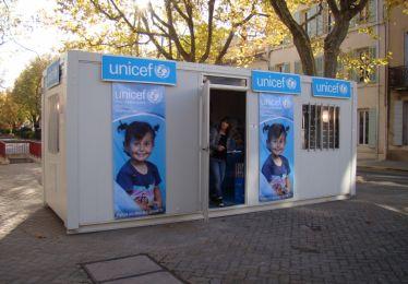 Le kiosque UNICEF s'installe à Pertuis