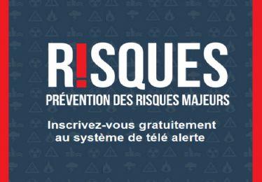 Inscrivez-vous au système d'alerte pour être prévenu cas de risque majeur