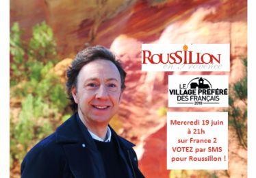 Mardi 19 juin votez pour Roussillon !