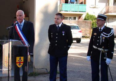 Prise de fonction du Lieutenant Jacquel