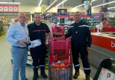 Lutte contre les incendies : les entreprises pertuisiennes sont solidaires
