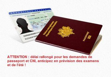Anticipez vos demandes CNI et passeports !