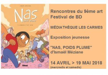Rencontres du 9ème art - festival de BD à la médiathèque