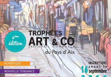 Concours - Trophées ART&CO Trophées 2ème édition du Territoire du Pays d'Aix