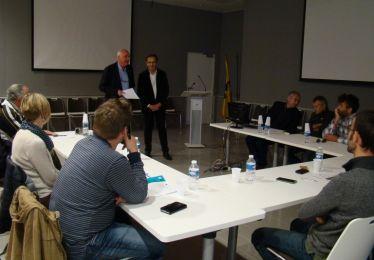 Le maire de Pertuis lance un projet européen du Centre Forestier de La Bastide des Jourdans