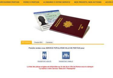 Elaboration passeports/CNI
