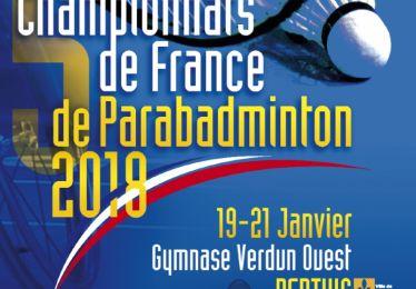 Tous aux championnats de France de parabadminton !
