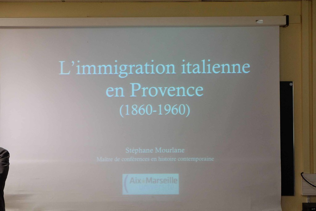 conference immigration italienne