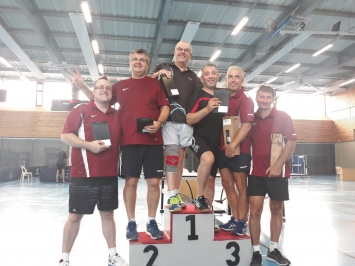 Tennis de table : 7ème tournoi de doubles du Luberon