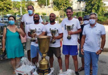 L'équipe Dubois-Pavanello vainqueurs du 78e National Bouliste de jeu provençal