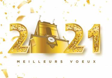 La ville de Pertuis vous souhaite une très belle année 2021 !