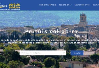Solidarité : lancement du site pertuis-solidaire.fr