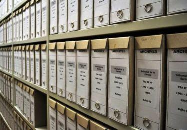 Fermeture momentanée du service des archives a/c 25 octobre