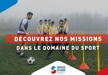 Appel à candidature : missions de service civique à pourvoir dans le domaine du sport