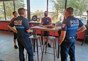 Covid-19 et respect des mesures barrières : la Police municipale en opération sensibilisation dans les bars et restaurants