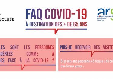 FAQ Covid à destination des + 65 ans