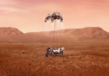 Perseverance, le robot envoyé sur Mars par la Nasa est équipé de miroirs fabriqués par la société Winlight System basée à Pertuis