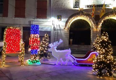 Les illuminations de Noël s'allument pour fêter la réouverture des commerces