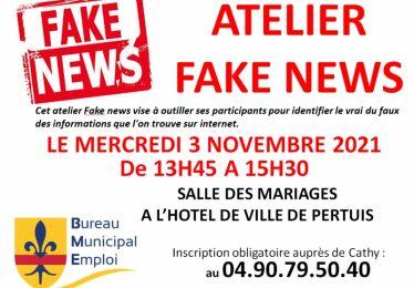"""Atelier """"Fake News"""" avec le Bureau Municipal de l'Emploi"""