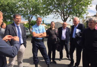 Conseil territorialisé restreint à la résidence Jaubert